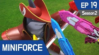 Miniforce Season2 EP19 Shaku, the Pirate King Pt  1 (English Ver)