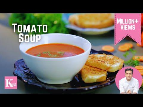 Easy Tomato Soup, Quick Garlic Bread | Kunal Kapur | The K Kitchen