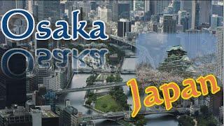 日本第二の都市 大阪 関西 たこ焼きお好み焼きなど食文化多数!