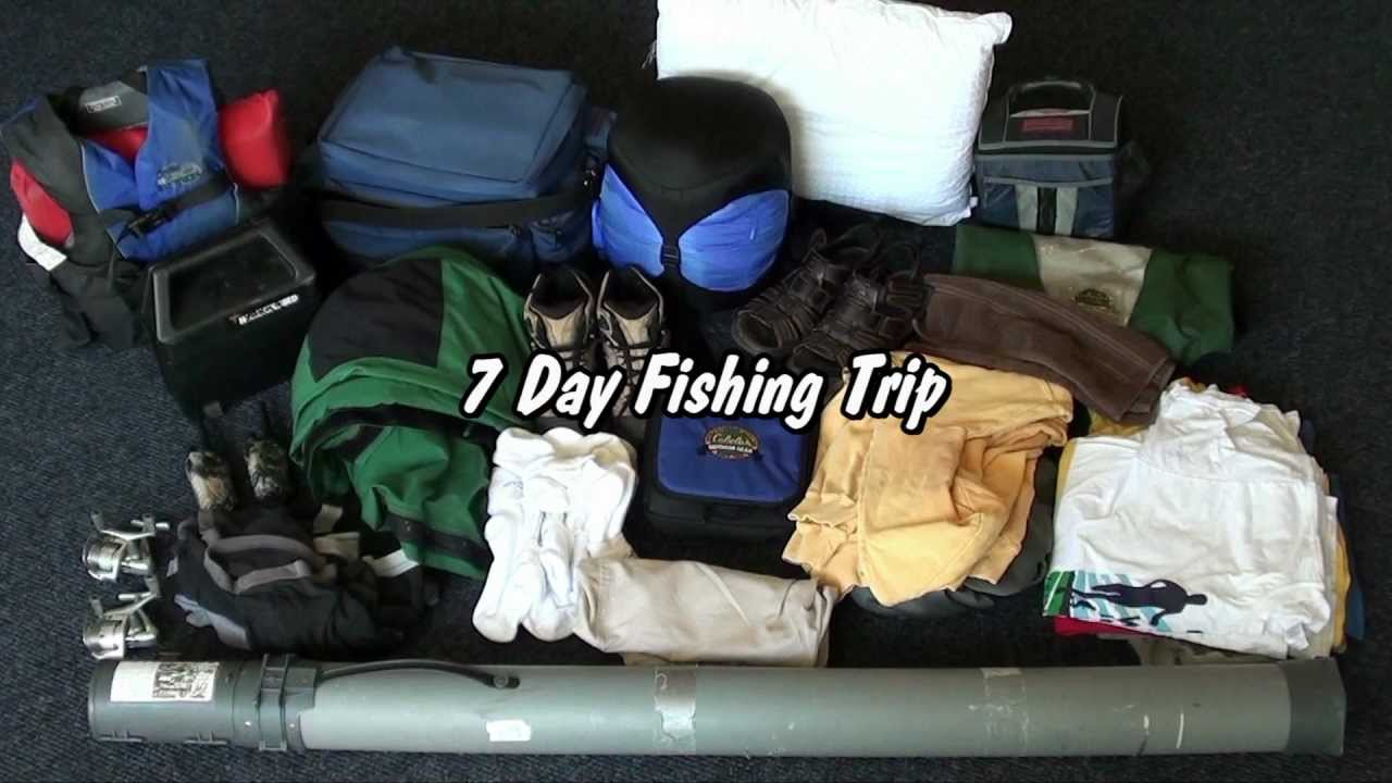 How to Pack for a Fishing or Hunting Trip