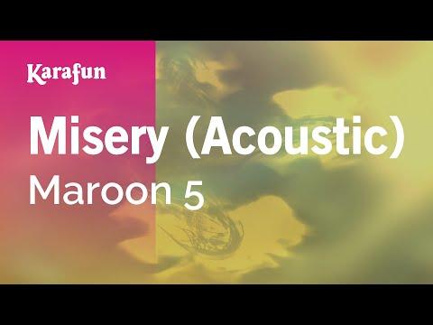 Karaoke Misery (Acoustic) - Maroon 5 *