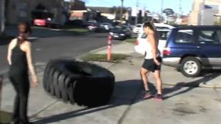 Tyre Flipping - Saofaiga Saemo