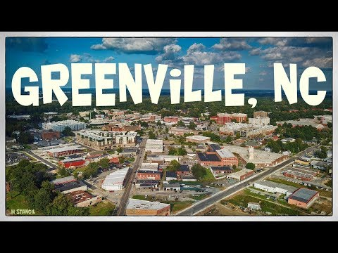 Greenville, North Carolina (DJI Mavic Pro Footage)