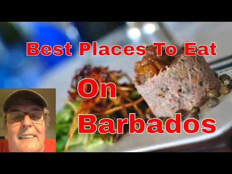Best Places To Eat On Barbados