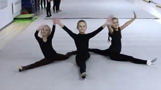 видео Полупальцы гимнастические Grishko Alina
