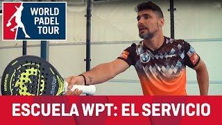 Escuela de Pádel WPT: el servicio o el saque por Agustín Gómez Silingo