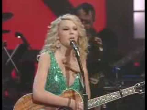 Taylor Swift - Teardrops on My Guitar (Live) + Lyrics