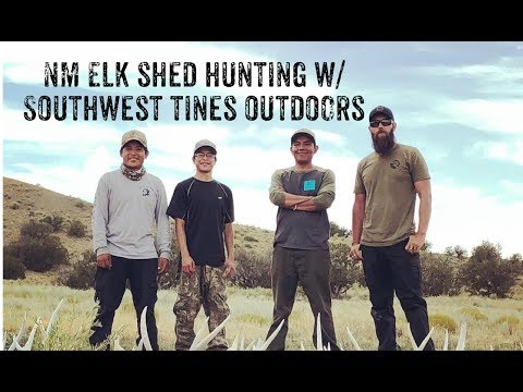 NM Shed Hunting: Southwest Tines Outdoors - NM Elk Sheds