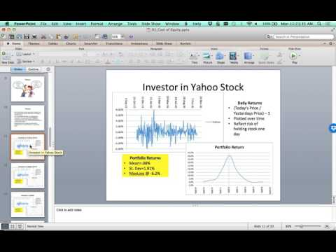 06 Cost of Equity from Publicly Trades Equity Shares