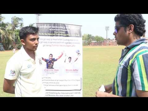 Prithvi shaw During the practice session of CENTER OF EXCELLANCE FOR CRICKET BY MUMBAI CRICKET CLUB