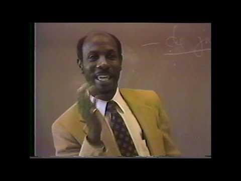 Dr Naim Akbar: Implications of Melanin Research | 1985 SFSU