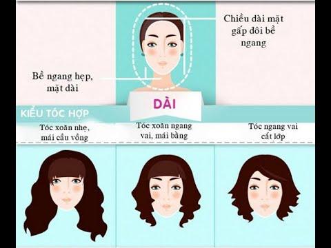 Chọn kiểu tóc dài với khuôn mặt vuông - Chuyển Động [HTV9 - 15.12.2012]