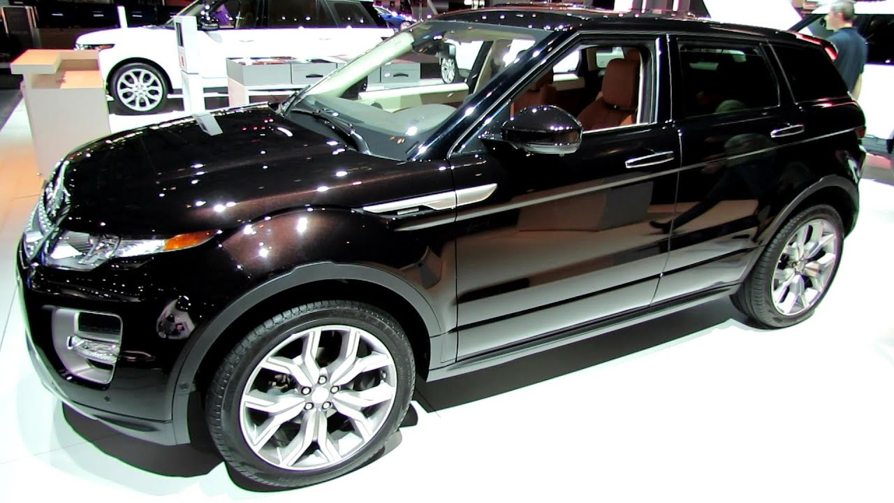2014 Range Rover Evoque Autobiography Edition Exterior and