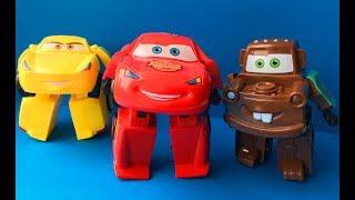 Тачки 3 Трансформеры Мультики про Машинки Игрушки Молния Маквин Крус Рамирес Мэтр