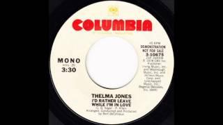 Thelma Jones - I