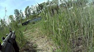 The War Zone airsoft skirmish 8-19-12 game 3 part 2