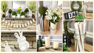 DOLLAR TREE DIY | 4 EASY & CHEAP FARMHOUSE SPRING DECOR | 2019