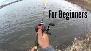 How to cast a bait¢aster (For Beginners)