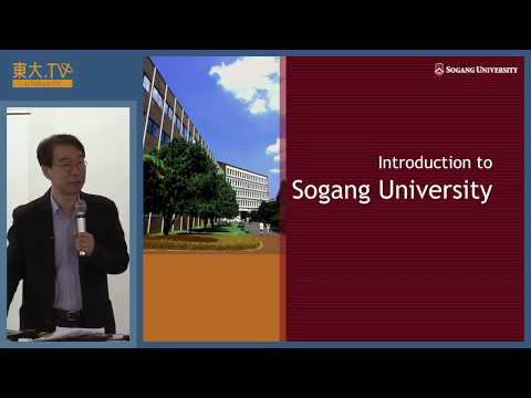 Kim Dong-Taek「Sogang Korean Studies Bridging the Globe」ー世界の中
