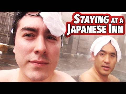 Staying At A Traditional Japanese Inn & Hot Spring | Ryokan