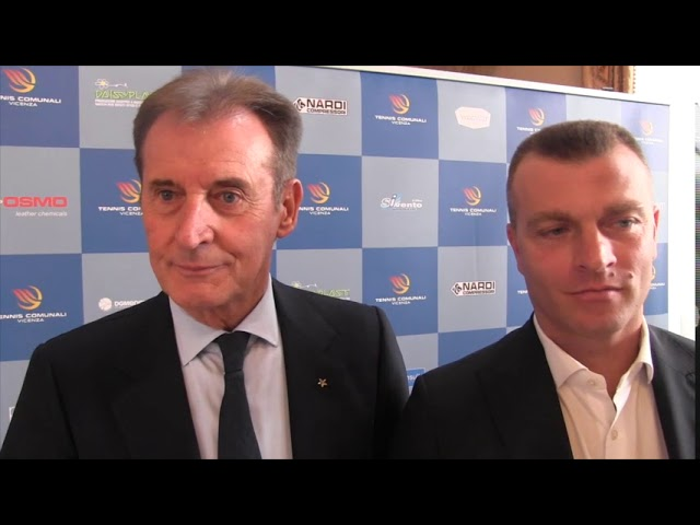 TENNIS - Anche il presidente del Panathlon a celebrare la promozione del tennis