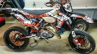 KTM 125 EXC First Start