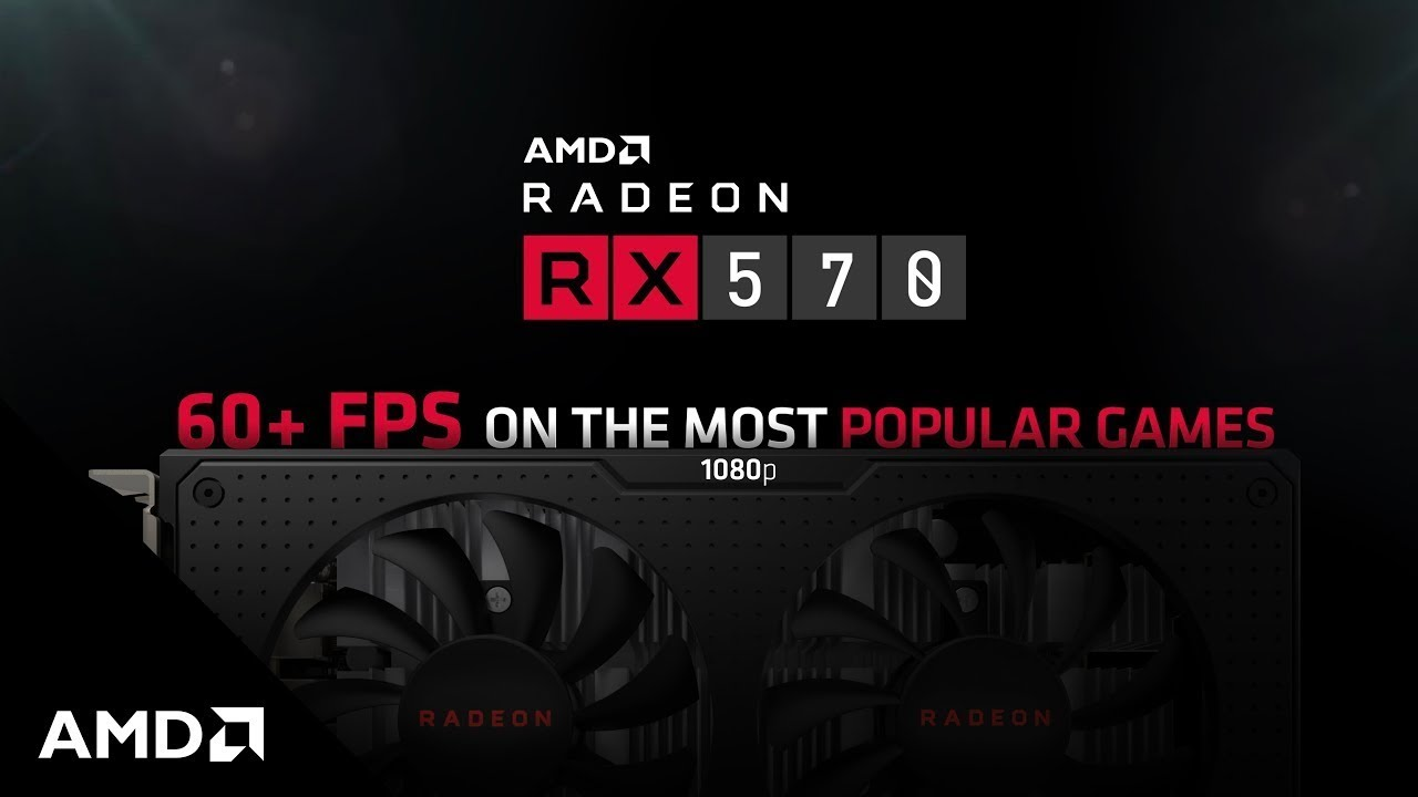 Reviewers Agree: Radeon™ RX 570 Graphics are the Best for 1080p HD Gaming