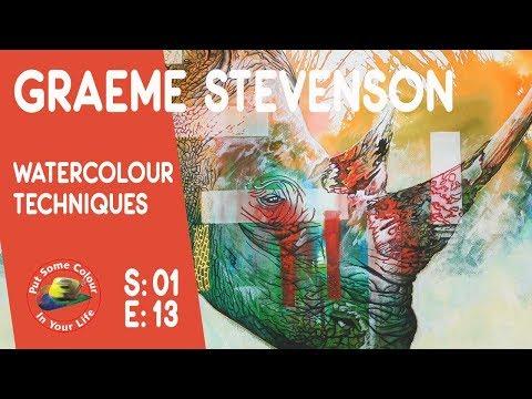 Fantastic Watercolour Lesson with Graeme Stevenson 0113