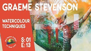 Fantastic Watercolour Lesson with Graeme Stevenson