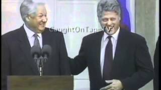 Clinton Yeltsin disaster