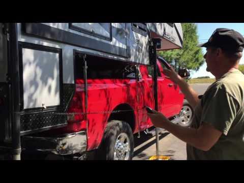 Loading Camp Lite Livin Lite truck camper Ram 3500