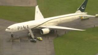 Pakistan plane diverted to Stansted Airport   Video Dailymotion