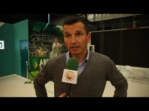 Richard Krajicek blikt vooruit op 43e ABN AMRO World Tennis Tournament