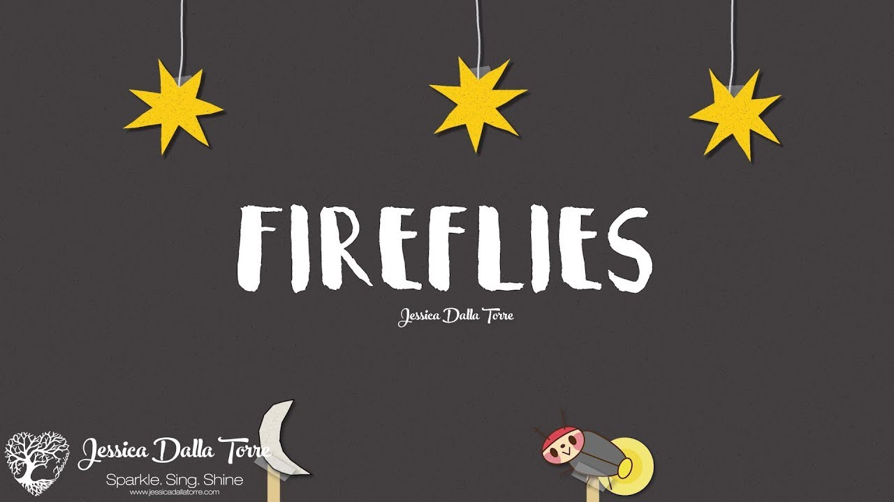 Fireflies - Jessica Dalla Torre (Official Lyric Video)
