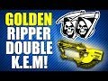 COD Ghosts: Golden Ripper Double KEM Strike!