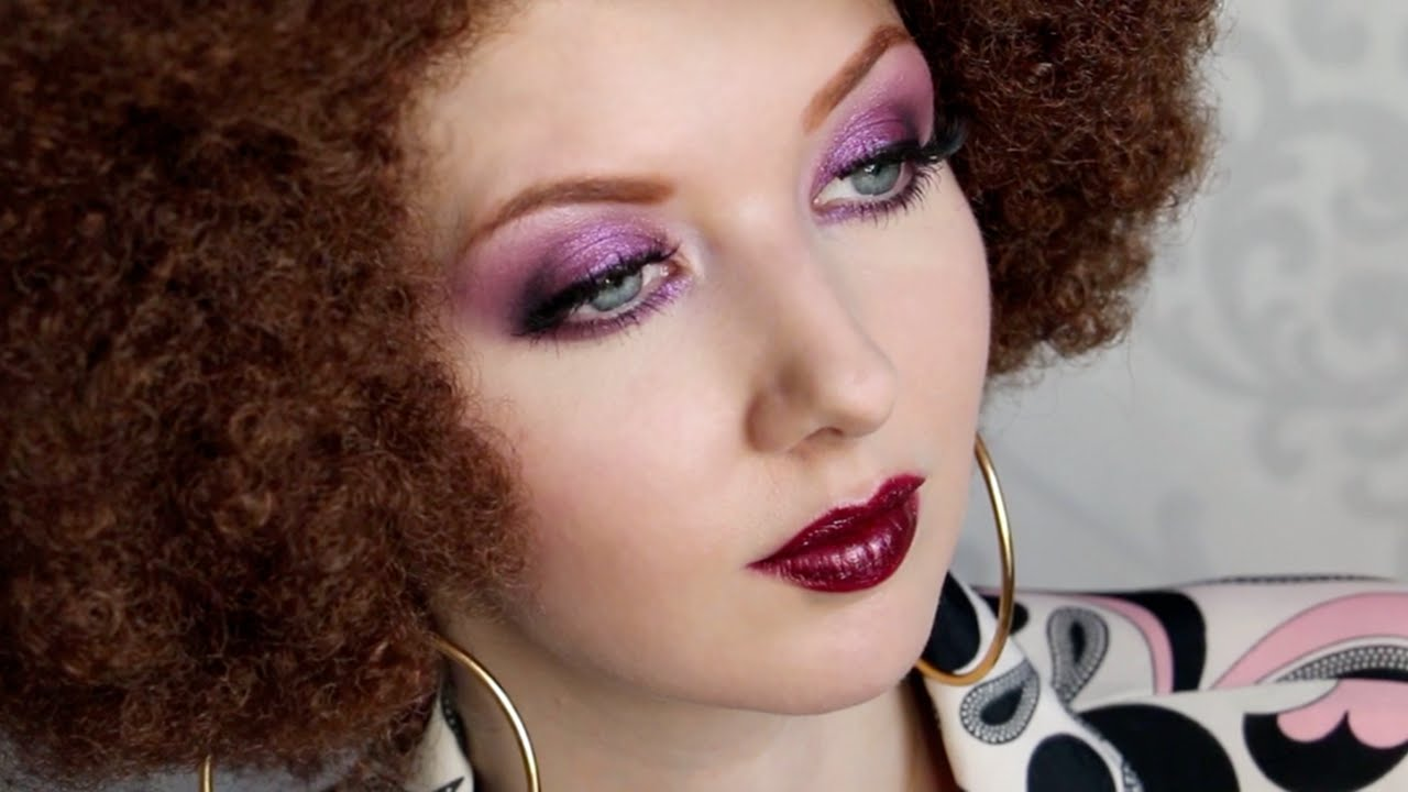 Historically Accurate: 1970s DISCO Makeup Tutorial - YouTube