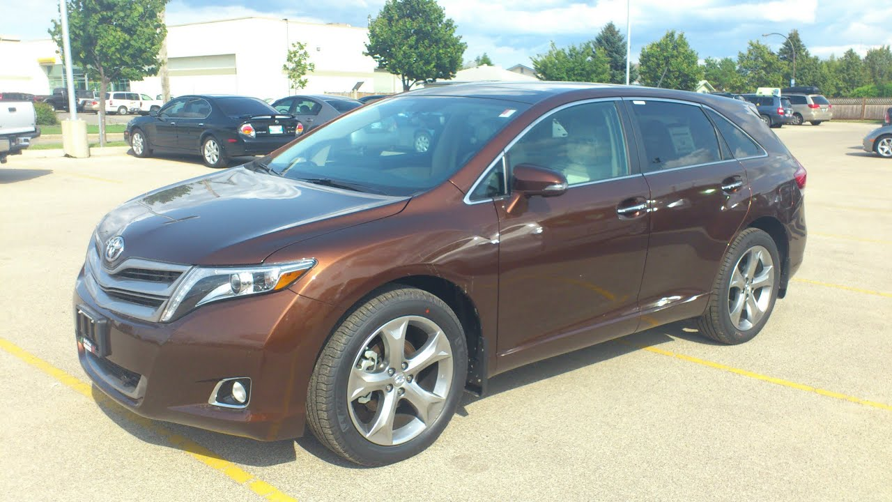 2013 Toyota Venza Limited V6 Awd Start Up Walkaround And
