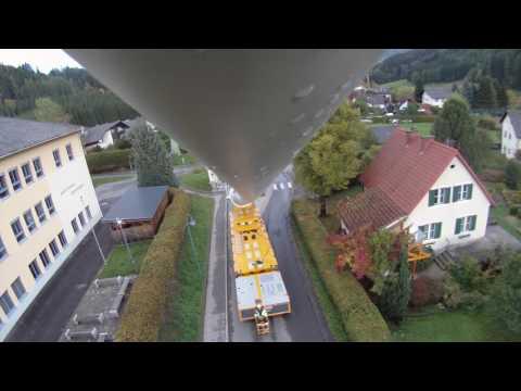 Rotorblatt Transport