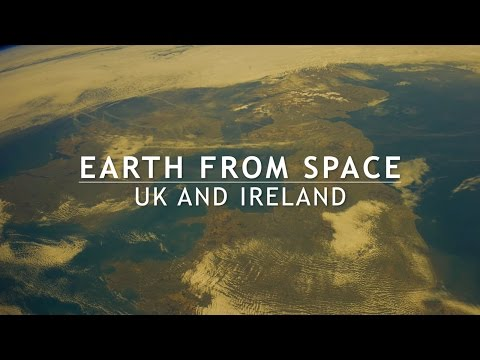 Earth from space - UK and Ireland