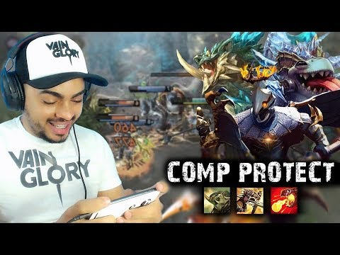 Vainglory Gameplay - Lance jungler WP (COMP PROTECT) - RANKED SOLO [PATCH 2.8]