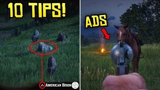 Red Dead Redemption 2 - 10 Things I Wish I Knew Before Playing (Tips & Tricks)