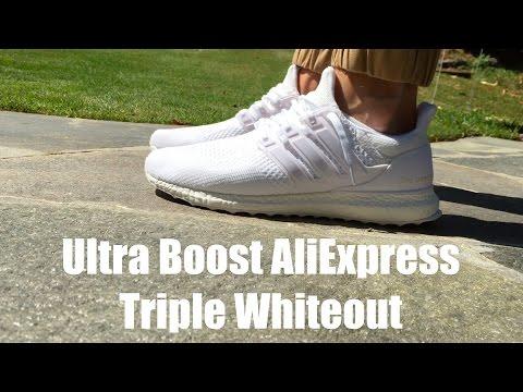 Adidas Ultra Boost Triple Whiteout AliExpress ($40)