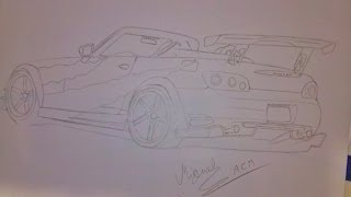 Desenhando ( drawing ) Honda S2000 Tuning