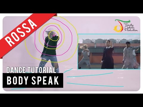 Rossa - Body Speak | Dance Tutorial
