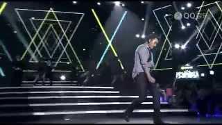 Rain Bi 비 140327 2014 QQ音樂年度盛典_Rain cut (領獎 + 30Sexy + La Song)