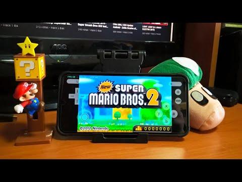 Citra MMJ 3DS Android - New Super Mario Bros. 2 (Snapdragon 855)