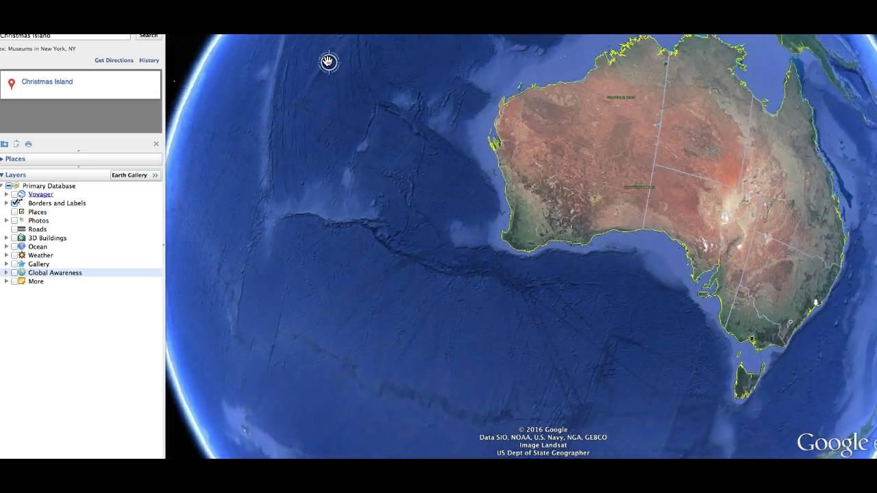 Earthquake at Christmas Island near So. Indonesia   WHAAAAT? - YouTube