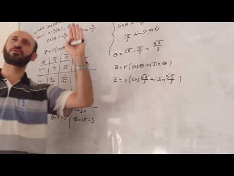 دورة الرياضيات :  الصيغة القطبية للعدد المركب أ: قصي هاشم