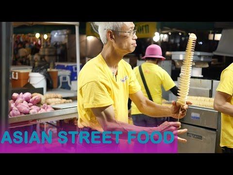 Asian Street Food - Potato Tornado- Ottawa Asian Fest