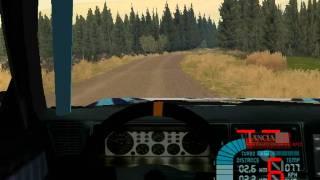 Richard Burns Rally: Shepherds Shield II - Lancia Delta HF Integrale; onboard